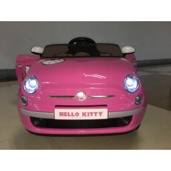 FIAT 500 X HELLO KITTY